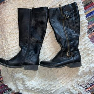 Steve Madden Wide Calf Riding Boots
